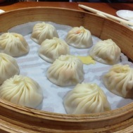Crab roe and pork XiaoLongBao