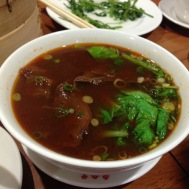 Braised beef soup