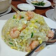 Shrimp fried rice (with egg)